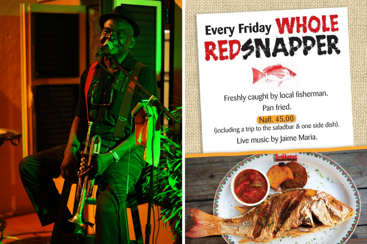 Every Friday: Whole Red Snapper