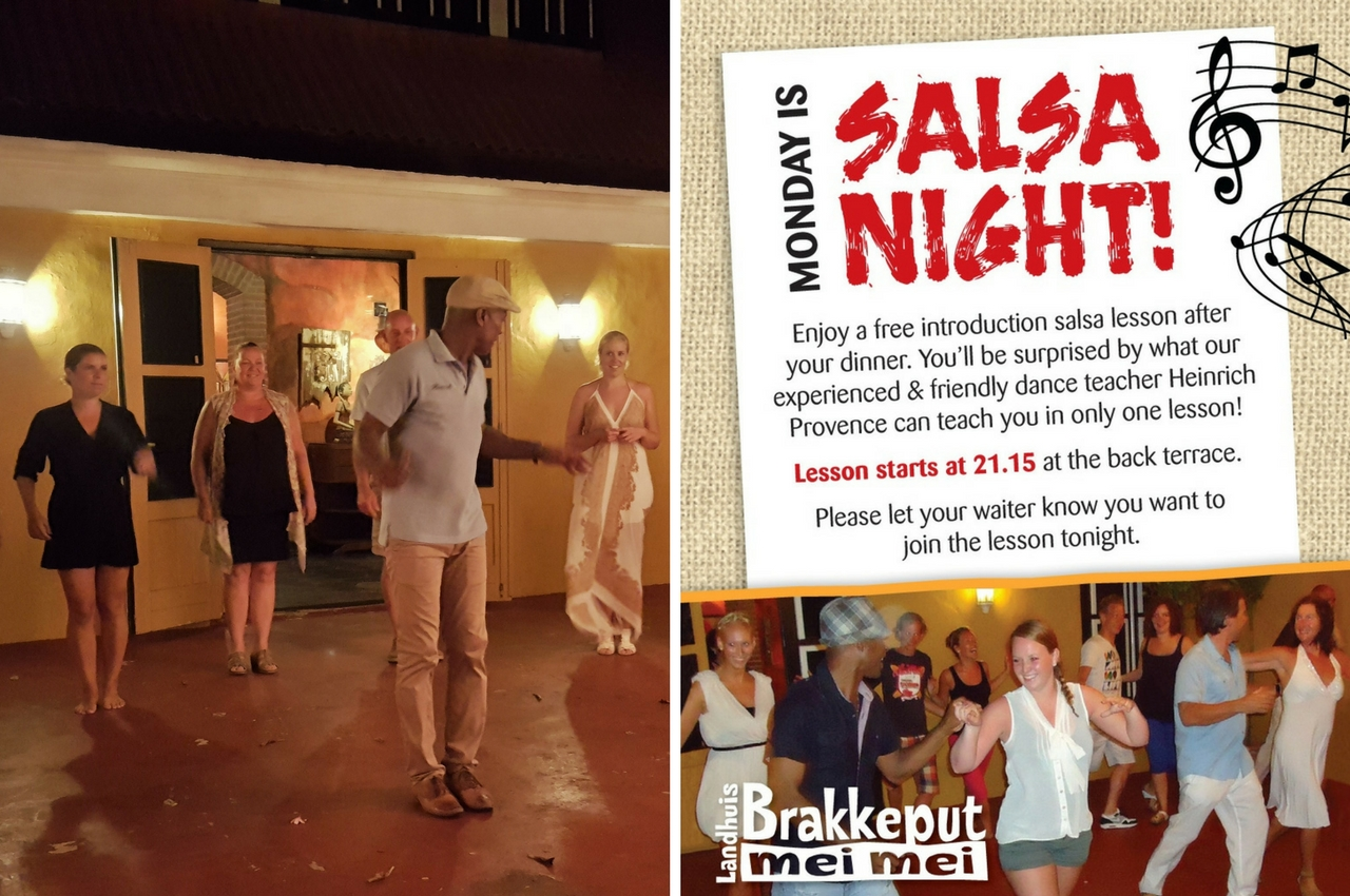Every Monday: Free salsa lesson